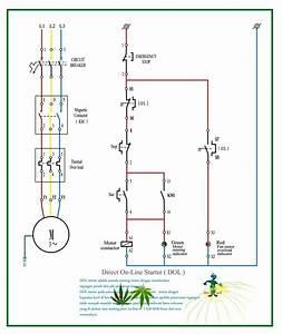 Direct Motor Starter Wiring