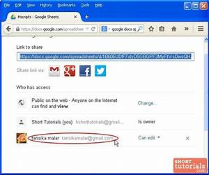 how to change share settings in google docs spreadsheet With google docs spreadsheet access