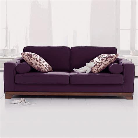 canapé d 39 angle couleur aubergine