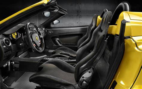 Ferrari Scuderia Spider 16m Interior 2 Wallpaper Hd Car