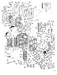 Johnson 1977 115 - 115txl77s  Cylinder  U0026 Crankcase