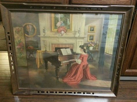 Vintage Painting. Girl Red Dress Playing Piano. M. Ditlef. Antique Rose Cut Diamond Jewellery Antiques On Main Bismarck North Dakota Cast Iron Fence Panels Antonio S San Francisco Ca 94107 Silver Chandelier Chain Platinum Jewelry Markings Bedroom Furniture With Wooden Wheels John Deere Tractors Pictures