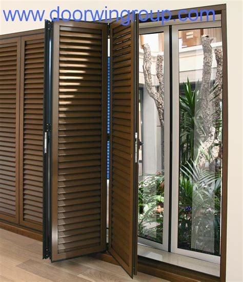 sliding louvered patio doors style china wood aluminium window wood window aluminum window