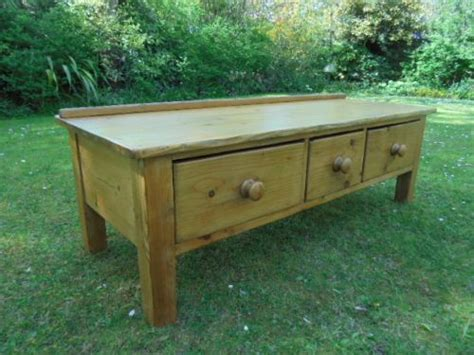 antique pine tv antique pine farmhouse 3 drawers coffee table tv stand c