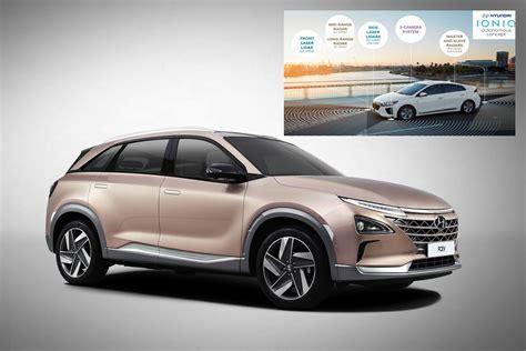 hyundai lanza el suv fuel cell de hidrogeno tendencias
