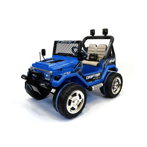 Xtreme 12v Ride On Offroad Jeep In Blue Xtreme Toys