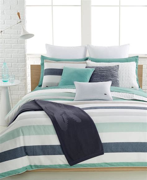 33032 lacoste bed set lacoste home bailleul comforter and duvet cover sets