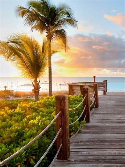 Pemandangan Android Sunset Gambar Untuk Pantai Hari