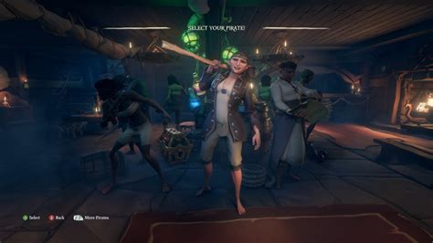 sea of thieves character creation personal hideouts