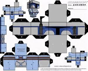 Cubeecraft Star Wars Boba Fett
