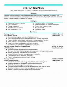 Transportation assistant resume