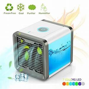 Mobile Klimageräte Ohne Abluftschlauch : luftk hler mini klimaanlage ventilator air cooler mit ~ Watch28wear.com Haus und Dekorationen