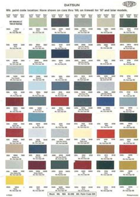 7 best auto paint color charts images in 2015 paint
