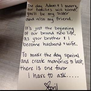 25 best ideas about proposal letter on pinterest sample With maid of honor proposal letter