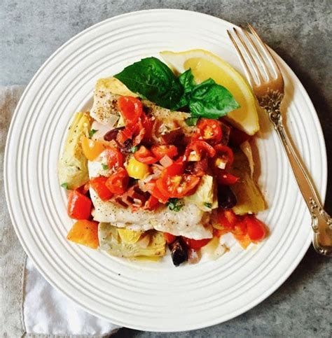 grouper recipe baked artichokes tomatoes recipes easy