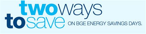 bge customer service phone number energy savings days baltimore gas and electric company