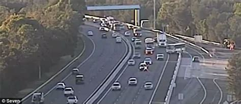 Sydney bus driver apologises for near-miss on M5 Motorway ...