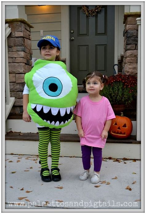 mike and boo from monsters inc halloween costumes from