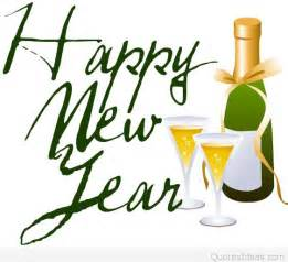 Happy New Year Champagne Clip Art