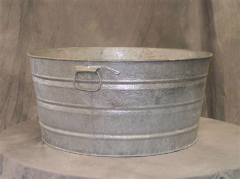 economic research galvanized tubs