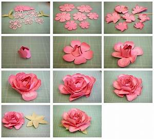 Instructions for 3D Layered Rose from the Sil Store - http