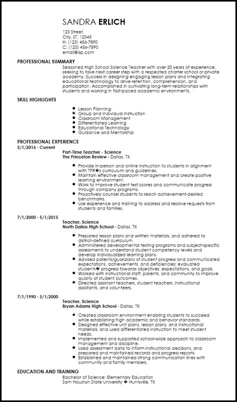 Teaching Resume Template by Free Creative Resume Templates Resume Now