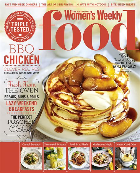magazines cuisine the australian s weekly food bauer media