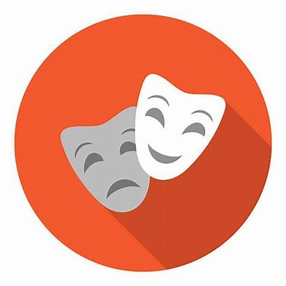 Acting Clip Theater Icon Illustrations Vectors Similar