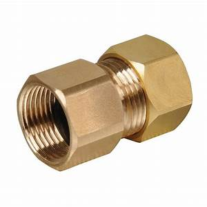 End1 X End2 Inch Compression Adapter Cap Nut Cap Fitting
