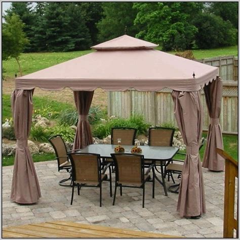 gazebo 10x10 25 ideas of gazebo with canopy replacement covers 10x10
