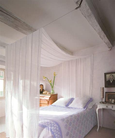 ciel de lit chambre adulte un ciel de lit ma décoration maison