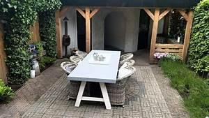 Schiebegardine 300 Cm Lang : tuintafel 90 cm breed tot 300 cm lang met houten a poten r de b meubels op maat ~ Markanthonyermac.com Haus und Dekorationen