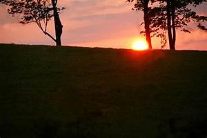 Hillside Sunset images