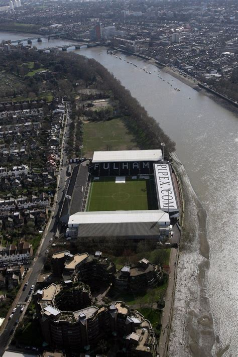 fulham cottage fulham s craven cottage teeters on the bank of the thames