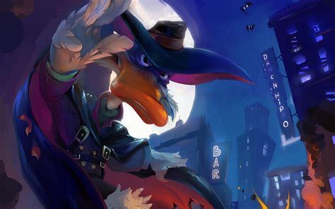 Darkwing Duck Cartoon Art Wallpaper  2880x1800 #9190