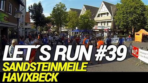 Let´s Run #39  Sandsteinmeile Havixbeck  Thema Regeneration  Locker Gelaufen Youtube