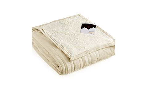 Biddeford 2061-9052140-702 Microplush Sherpa Electric Heated Blanket Full Cream How To Double Crochet A Border On Blanket Custom Make Your Own Baby Little Smokies Pigs In With Cheese Sunbeam Dreamland Electric Reviews North American Indian Blankets Crib Safe Sleep Express Beach Bingo Cast