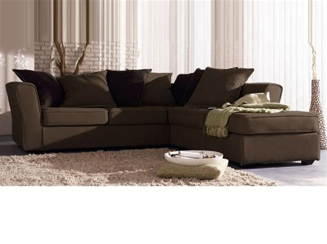 nettoyer canape tissu non dehoussable canapé d 39 angle tissu quot lilia quot 5 places cana chocolat 24654