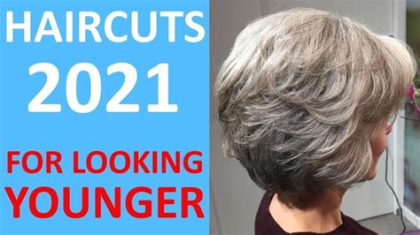 SPRING Fashion Short Haircuts 2020 For OLDER WOMEN 50+ 60
