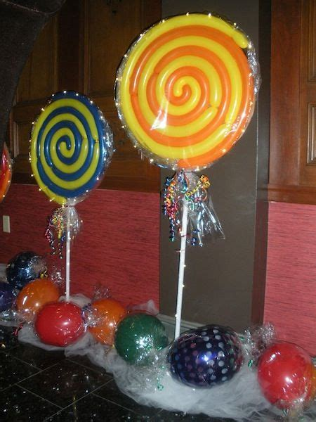 cool lollipop balloons birthday party   candy
