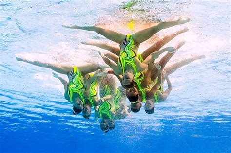 olympic synchronised swimming routines  rio viewers