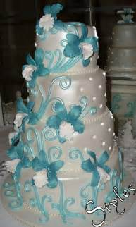 turquoise wedding cakes cakes by styles wedding cake turquoise orchids