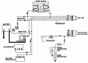 Wiring Diagram For Datsun B 210 Ignition