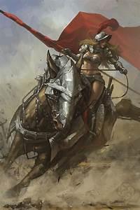 Kick-Ass Illustrations of Warrior Women   Vexels Blog