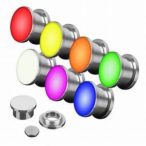 Led Licht Batterie : flesh led schraub plug licht farbig leuchtend inkl batterie ebay ~ Watch28wear.com Haus und Dekorationen