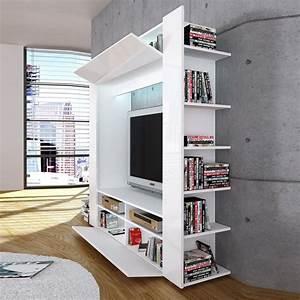 Tv Wand Weiß Hochglanz : roller tv wand olli wei hochglanz m bel wohnen online shop wohnzimmer pinterest ~ Indierocktalk.com Haus und Dekorationen