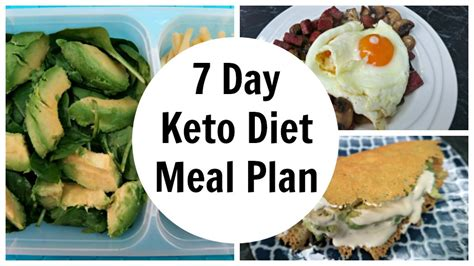 7 Day Keto Diet Meal Plan For Weight Loss