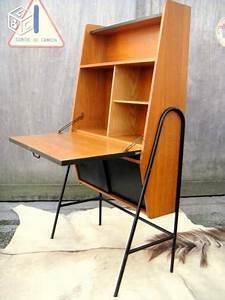Bureau Secretaire Vintage : bureau secr taire vintage 1950 dlg guariche hitier ~ Teatrodelosmanantiales.com Idées de Décoration