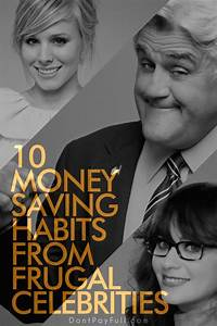 10 Money Saving Habits from Frugal Celebrities | The o ...