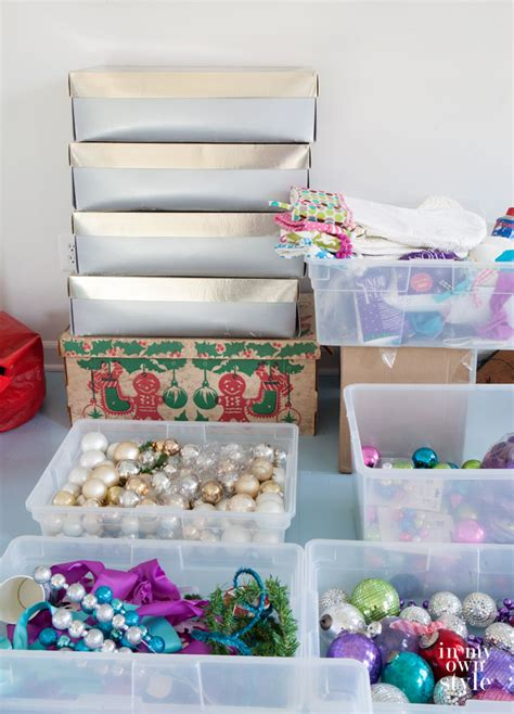 insta style christmas ornament storage in my own style